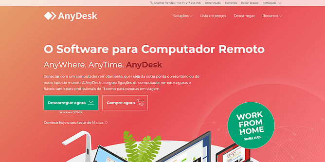 site do anydesk
