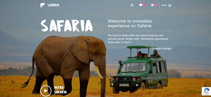 tema Safaria wordpress