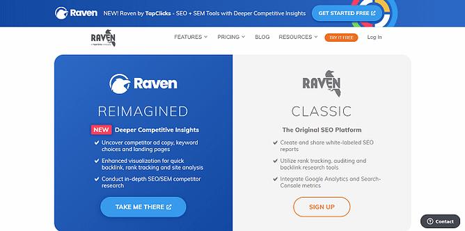 site da raven tools