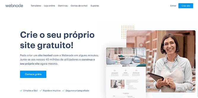 site do Webnode