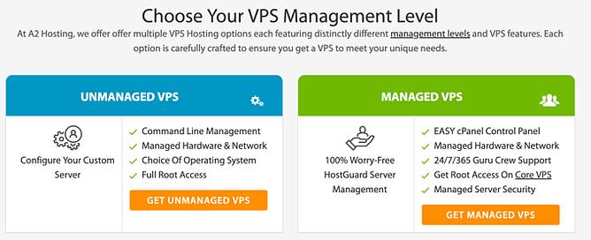 preços alojamento vps a2 hosting