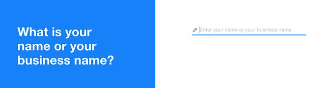 nome do website wix