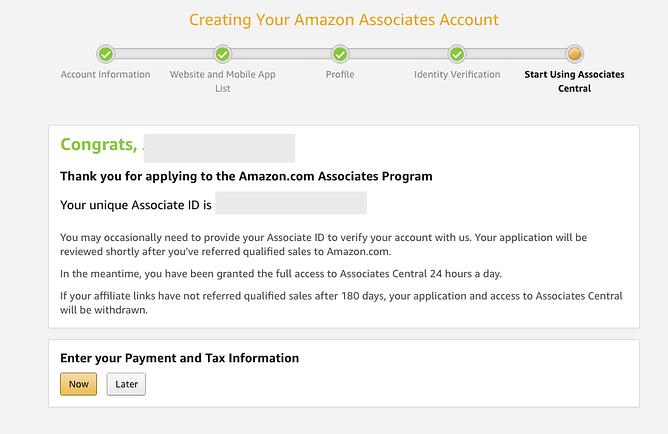 como ser afiliado amazon associates