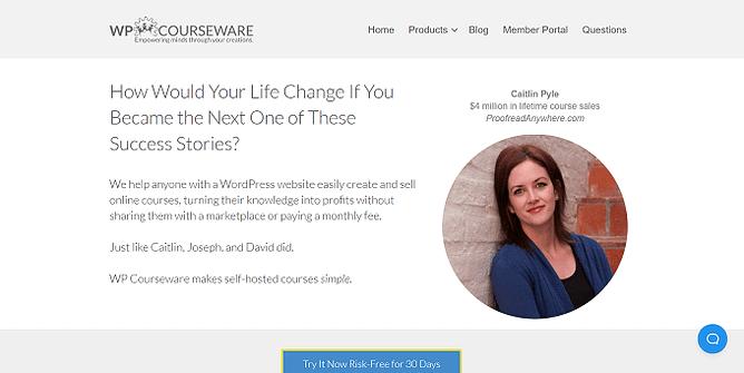 site da wp courseware