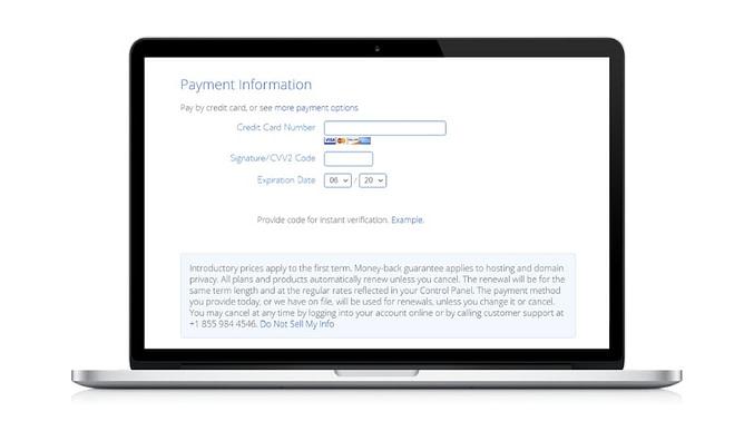 Crie a sua conta na Bluehost 4 - joaobotas.pt