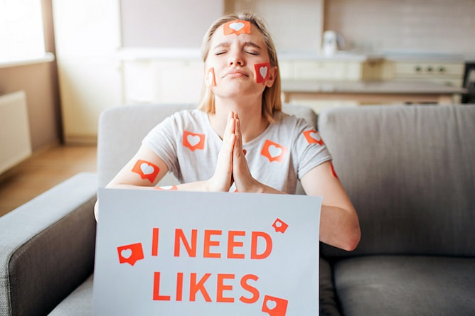 gostos do facebook afetam