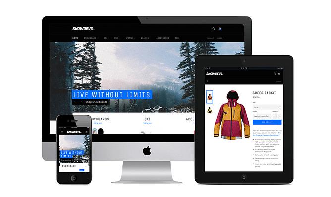 Tema Shopify Venture