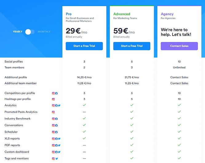 planos preços iconosquare