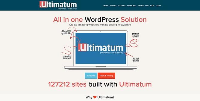 tema ultimatum wordpress