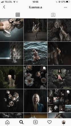 Fundo Escuro no instagram