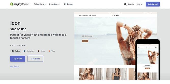 tema icon shopify