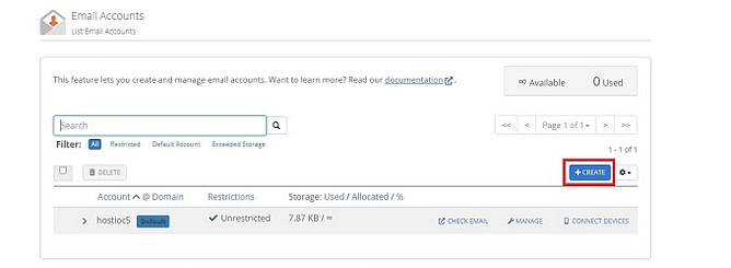 criar contas de email personalizadas 2