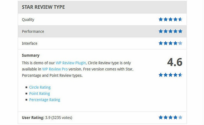 WP Review Pro 2