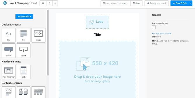criar email no Sendinblue
