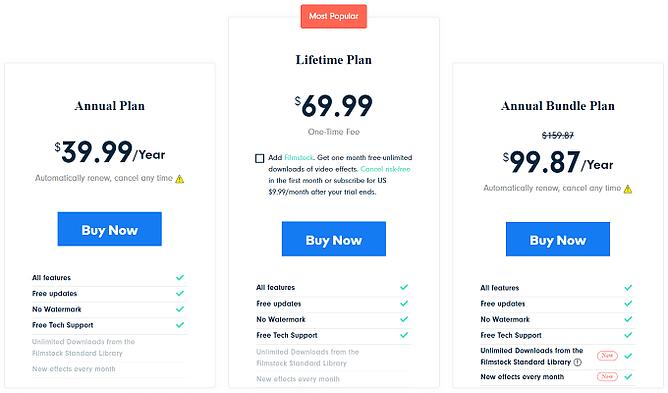 preços do filmora9