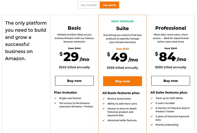 planos preços jungle scout