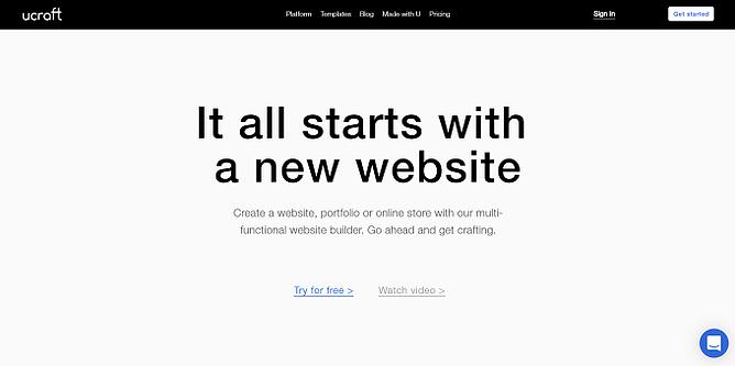 site da ucraft