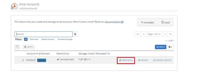 criar contas de email personalizadas 3