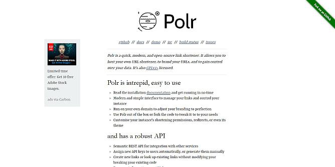 site do Polr