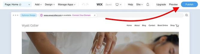 Criando uma loja online com Wix 8