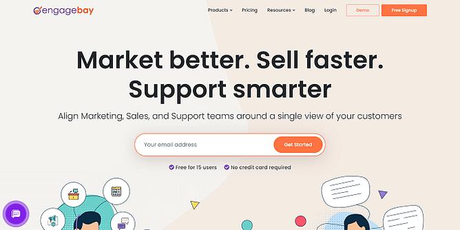site do engagebay