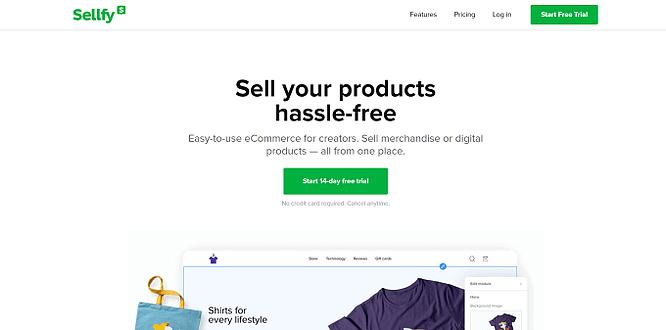 site da sellfy