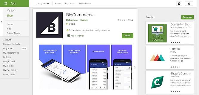 checkout simplificadas do BigCommerce