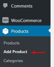 Adicionar produtos ou serviços woocommerce