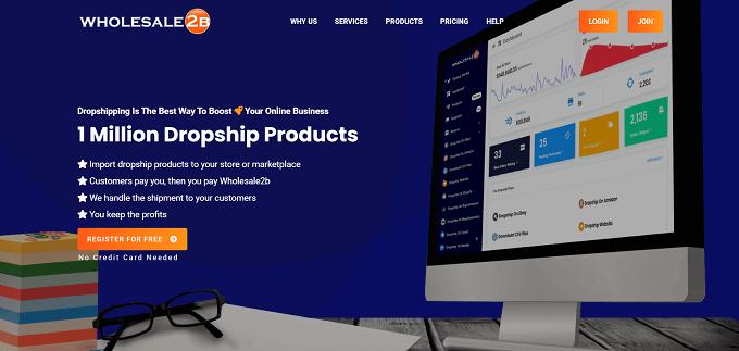 site do Wholesale2B