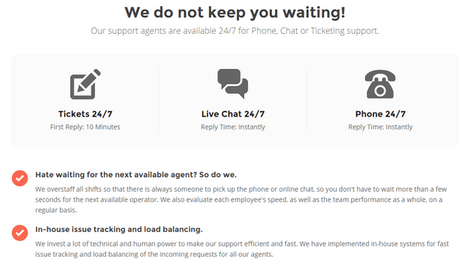 SiteGround-suporte ao cliente