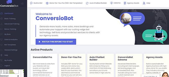 O que é o ConversioBot
