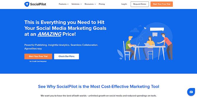 site da socialpilot
