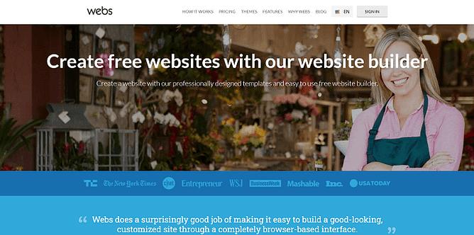 site do Webs