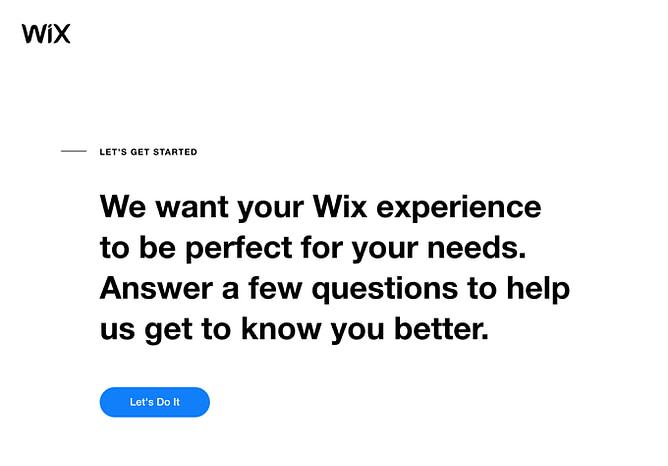 Wix ADI - Artificial Intelligence Designer