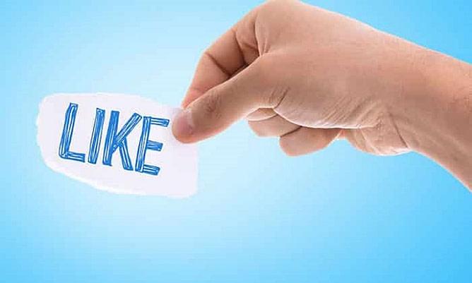 gostos do facebook