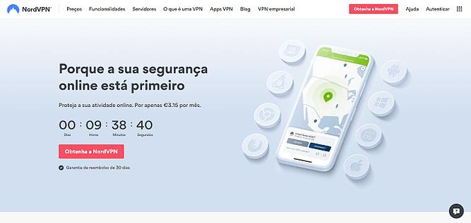 site do NordVPN