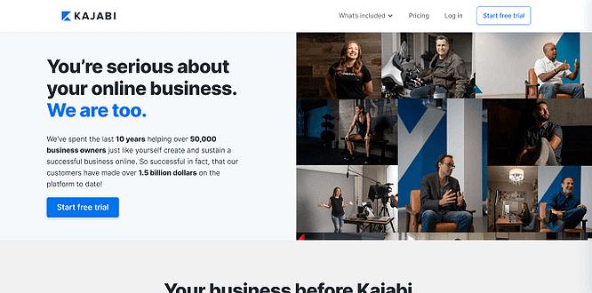 site do kajabi
