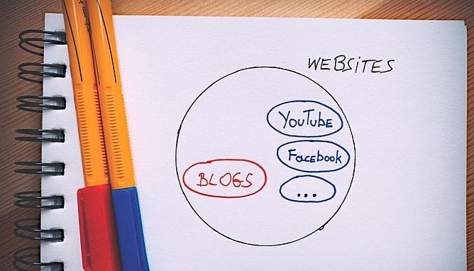 blog vs site