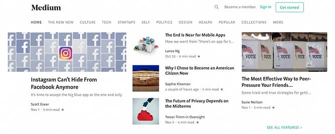 Blogging e outras redes de publicação