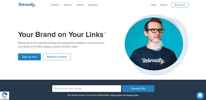 site do rebrandly