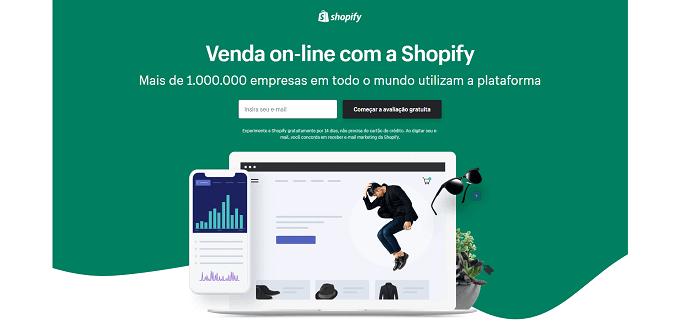 venda online com a shopify