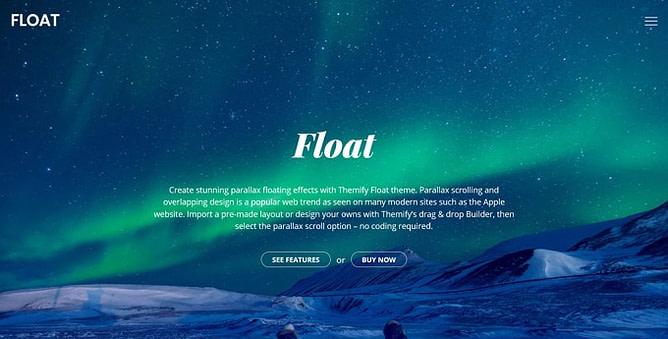 tema float wordpress