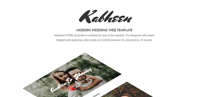 tema Kabheen wordpress