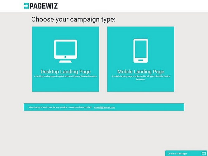 Facilidade de uso do PageWiz