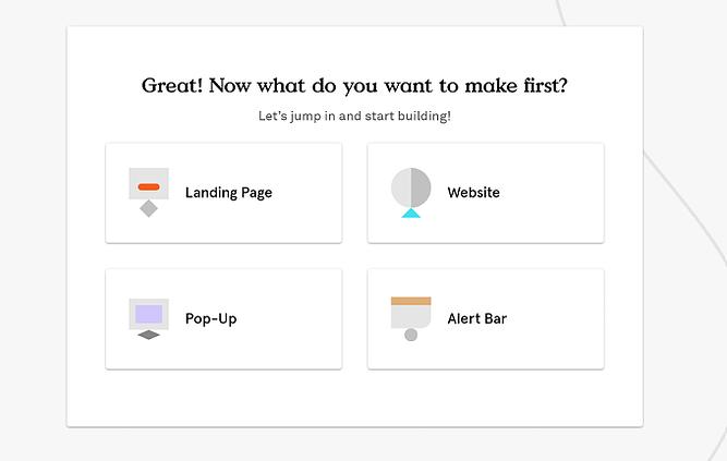 Primeiros passos com Leadpages