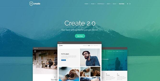 tema create wordpress
