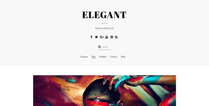 tema elegant wordpress