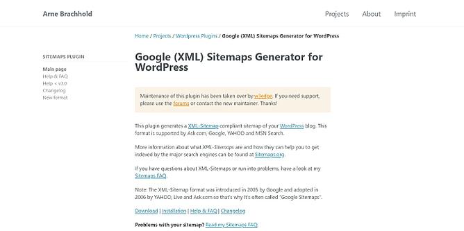 google xml sitemaps generator