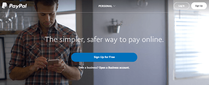 site da paypal