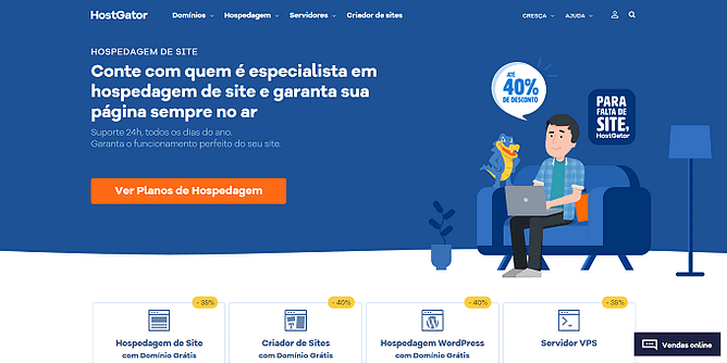 site do HostGator